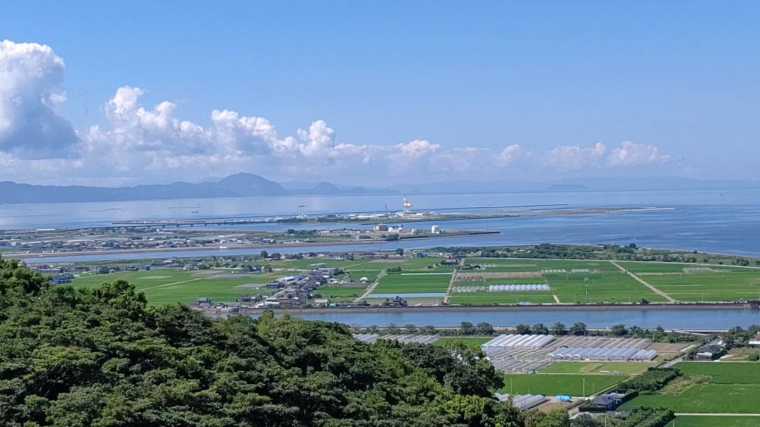熊本市西区にはたくさんの山もあります。